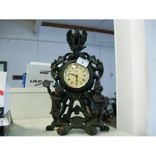 1 - Quartz Juliana Clock...
