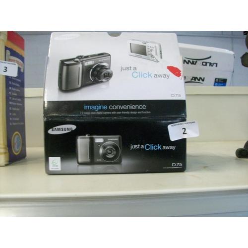 2 - Samsung Camera in Box (sas)...