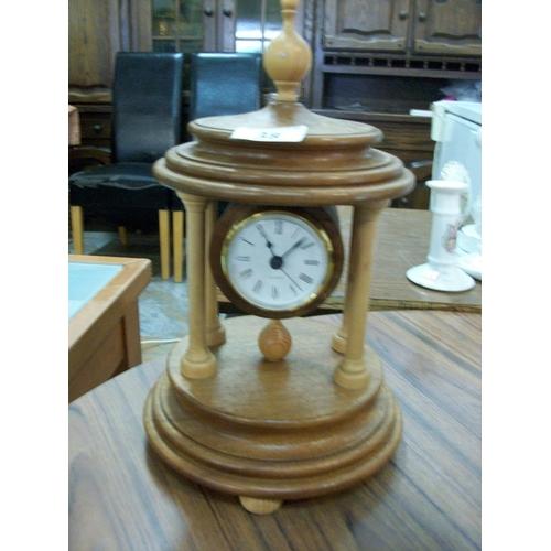 38 - Wooden Clock...