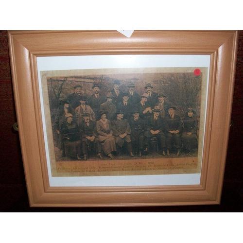 44 - Framed 1922 Ard Fheis Print...
