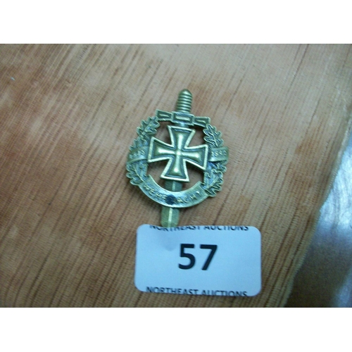 57 - German Army Lapel Badge 1939...