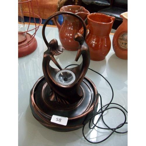 58 - Decorative Electric Fountain Ornament...