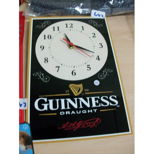 642 - Guinness Clock...
