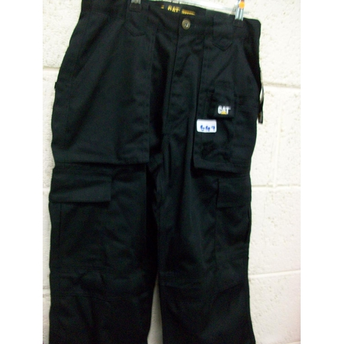 649 - CAT Work Trousers (28/30)...