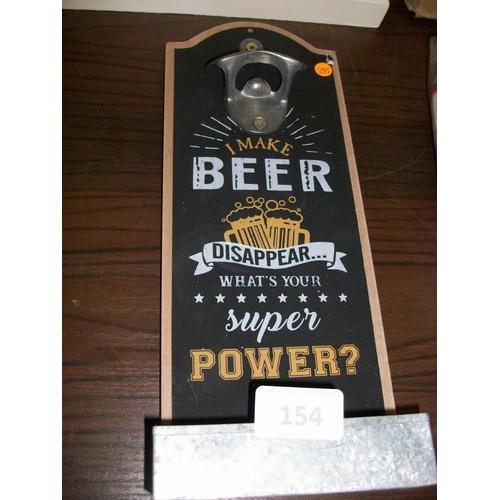 154 - Pub Bottle Opener...