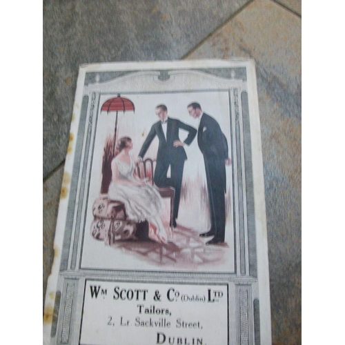 238 - Tailors Catalogue from Scotts of Sackville St Dublin (circa 1919-20)...