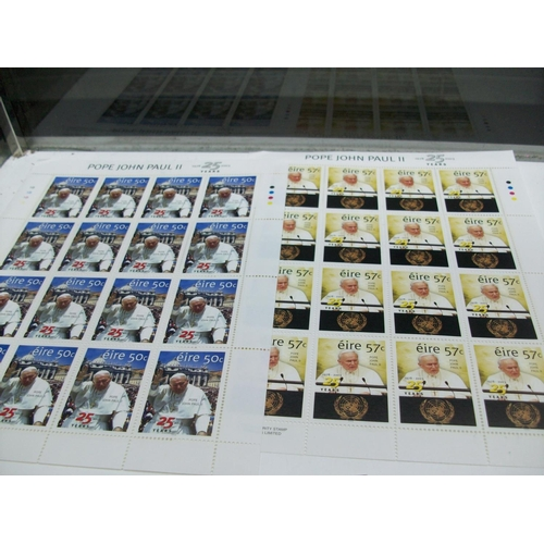 278 - 2 Sheets of Pope John Paul 25 Years Anniversary Stamps (32)...