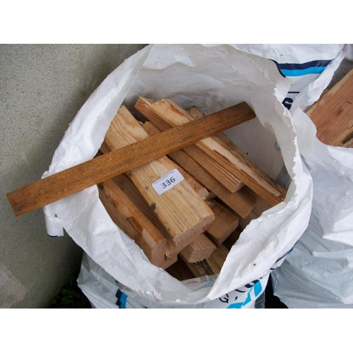 336 - 3 Bags of Sticks...