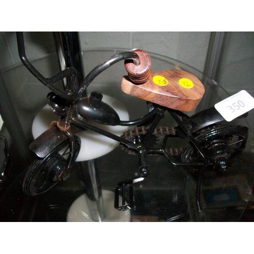 350 - Vintage Bicycle Ornament...