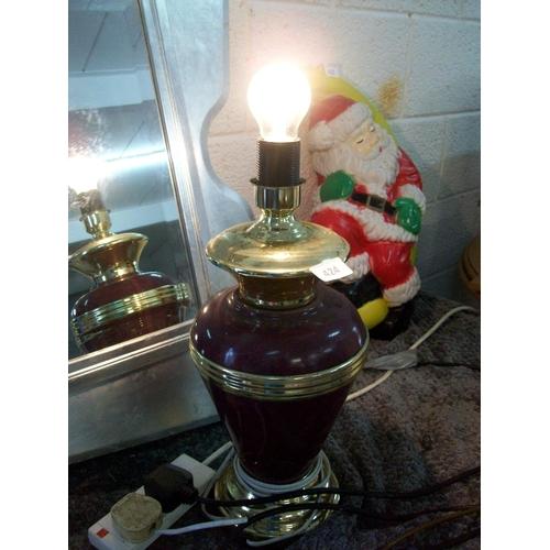 424 - Decorative Table Lamp...