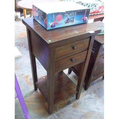 469 - 2 Drawer Lamp Table/Locker...