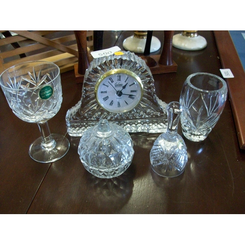 500 - Crystal Items x 5...