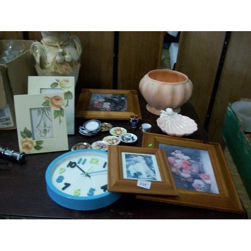 514 - Vase,Picture Frames etc.....