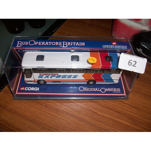 62 - Original Corgi Bus in Box...