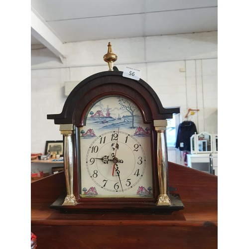 56 - Mantle Clock (w)...