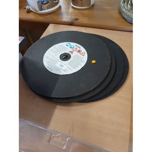 98 - 4 New Con Saw Discs...