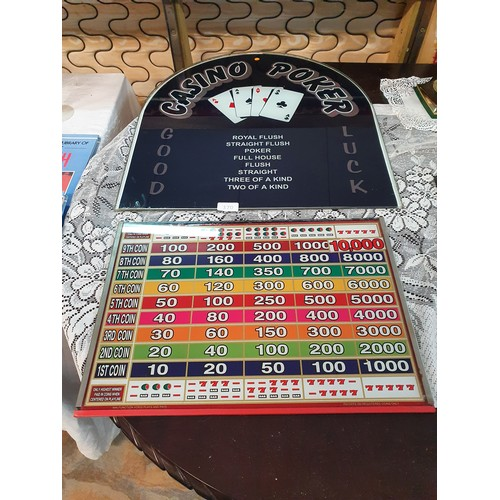 170 - 2 Arcade Machine Glass Fronts...
