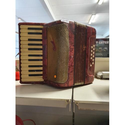 113 - Vintage Accordion...