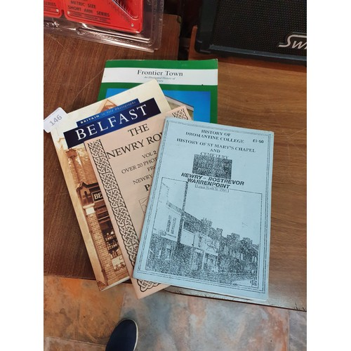 146 - 4 Local Area History Books...