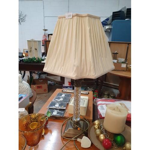 199 - Ornate Table Lamp...