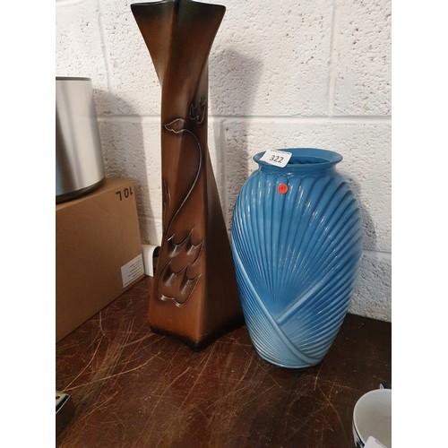 322 - 2 Modern Vases...