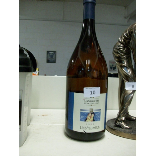 10 - Bottle of 1.5L Liebfraumilch...