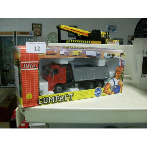 12 - Collectible Boxed Tipper Lorry...