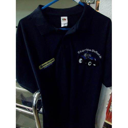 24 - New Holland Polo Shirt (L)...