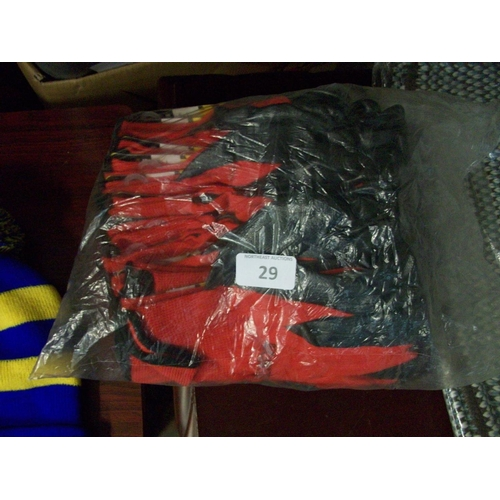 29 - Bag of Workgloves...