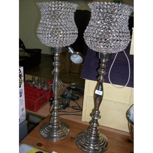 54 - 2 Decorative Candle Holders...