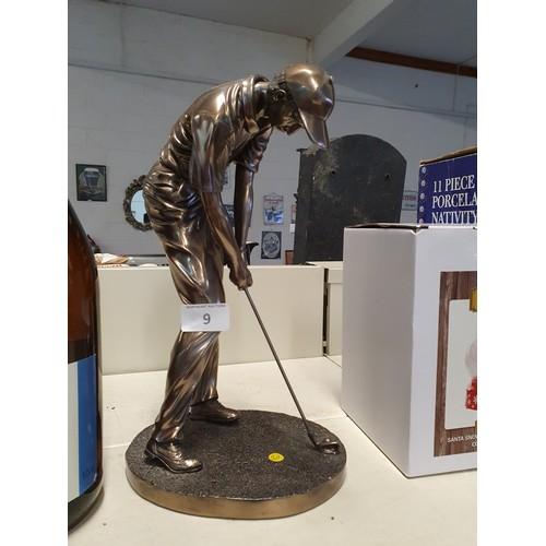 9 - 'Camego' Golf Figurine...