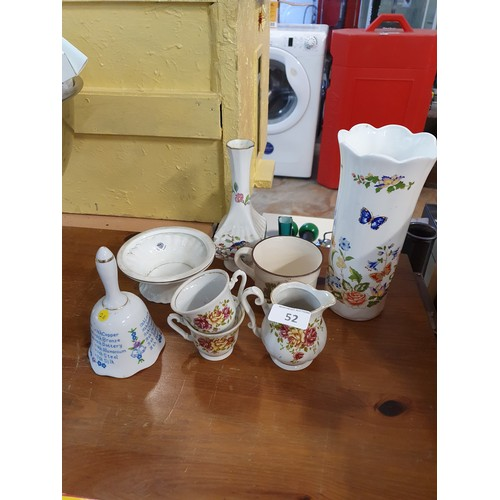 52 - Assortment of Anysley & Other Collectibles...