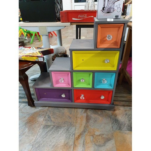 60 - 7 Drawer  Painted Chest...