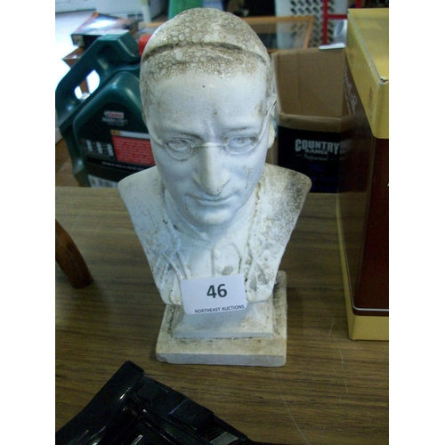 46 - Pope John Paul Bust