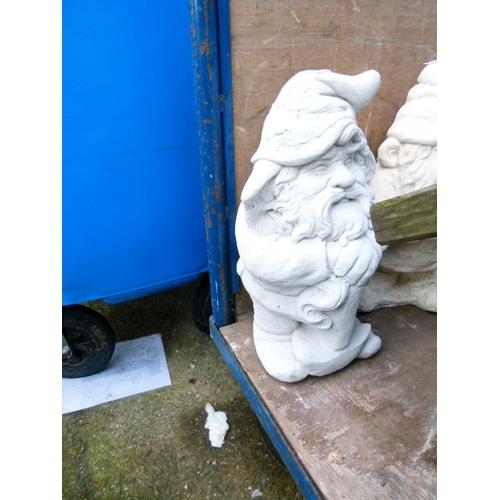 7 - Concrete Garden Gnome...