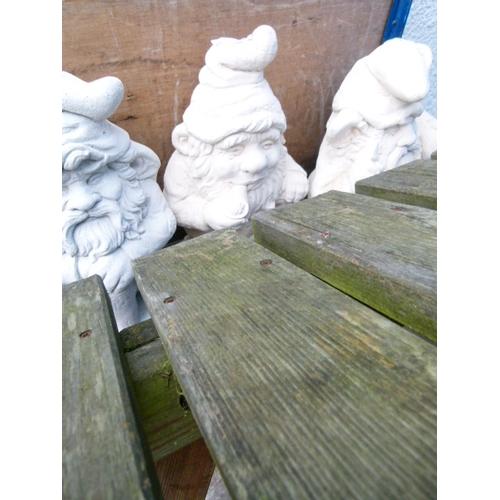 8 - Concrete Garden Gnome...