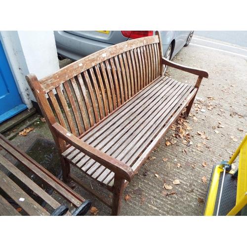 17 - Wooden Garden Bench...