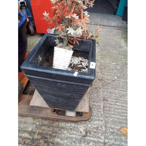 44 - Plastic Garden Planter...