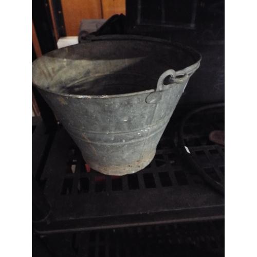 25 - Galvanised Bucket...