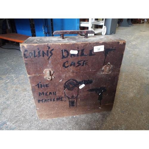 27 - Vintage Box of Tools...