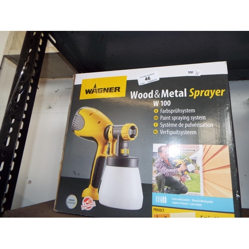 46 - Wagner Wood and Metal Sprayer...