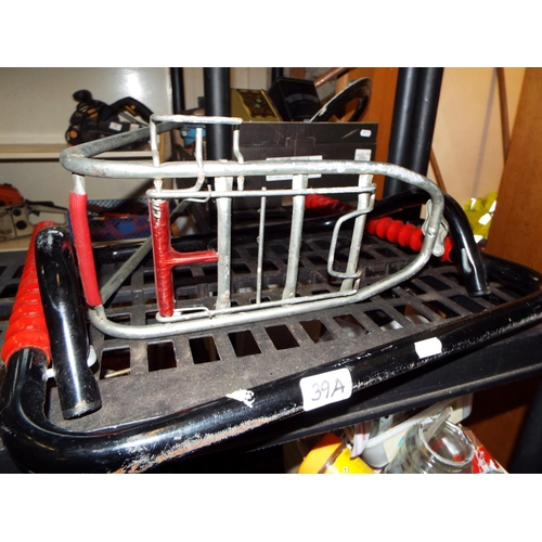 39A - Wall Mounted Bike Stand and Bike Carrier Rack...