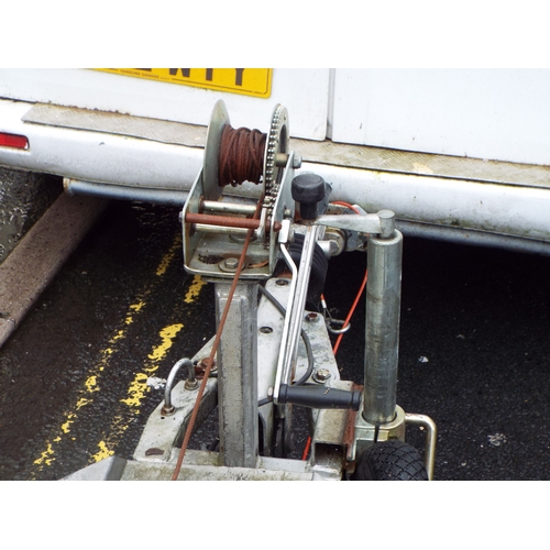 11A - Road Legal Galvanised Dolly Trailer 5-6 yrs old  Good Brakes/Lights Ready for Work!...