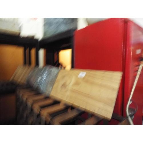 33 - Pine Wall Shelf with Brackets...