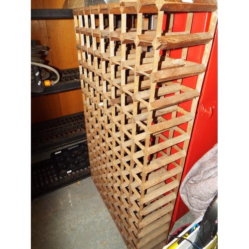 34 - 112 Bottle Wine Rack...