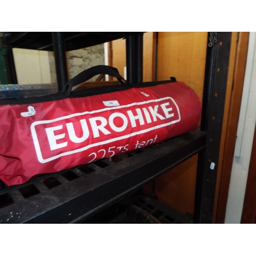 38 - Eurohike 225TS Two Man Tent...