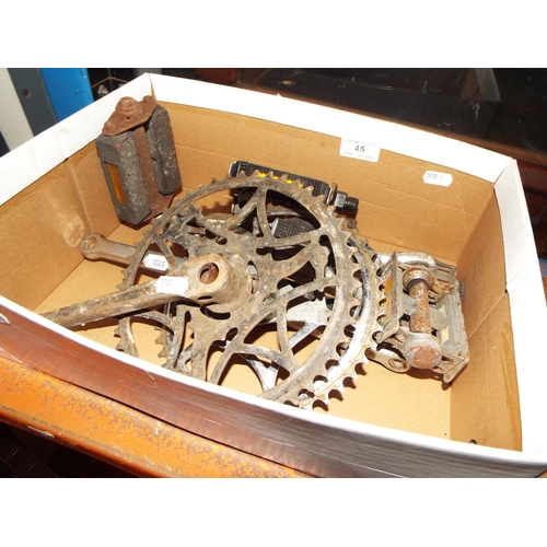 45 - Bicycle Parts inc Pedals...