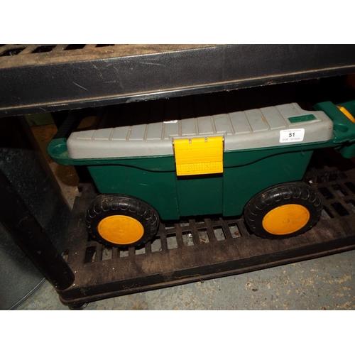 51 - Vintage Tractor Saddle...