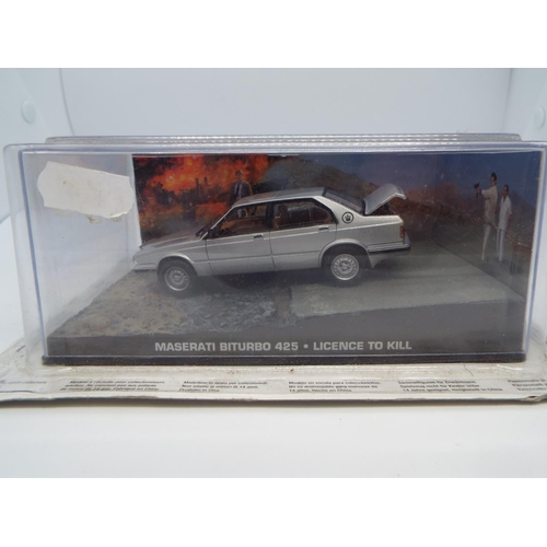 10 - 1:43 Maserati Biturbo 425 - James Bond Licence To Kill Universal Hobbies (C24)