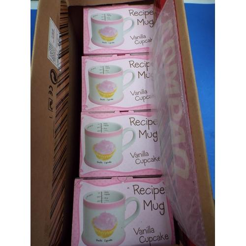 13 - Eight Boxed Vanilla Cupcake Recipe Mugs (UT8)
